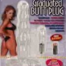 Graduated Butt Plug - Clear