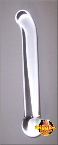 Clear Love G Spot Pyrex Glass Dildo
