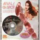ACRYL-X Anal G Spot Double Head Dildo