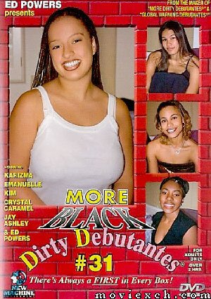 DVD - More Black Dirty Debantes #31 - NEW MACHINE