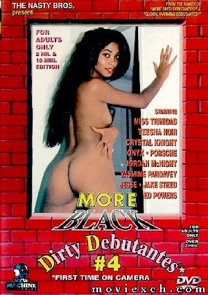 DVD - More Black Dirty Debantes #4 - NEW MACHINE
