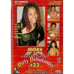 DVD - More Black Dirty Debutantes #23 - NEW MACHINE