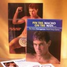 Pin The Macho On The Man - Adult Game