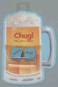 Chug Dice Set - Adult Game