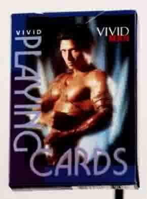 Vivid Man Adult Playing Cards