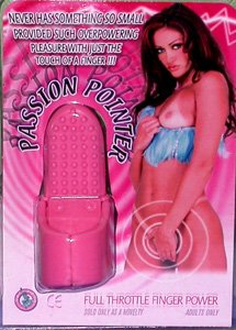 Passion Pointer Finger Vibrator Pink - NW16772