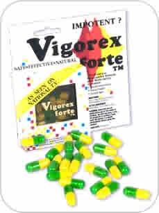 Vigorex Forte 20 Capsules Aphrodisiac - DJ135000