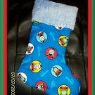 Thomas the Tank Engine and Friends and Chenille Handmade Christmas Stocking FREE US SHIPPING
