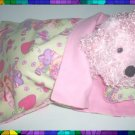 Sleeping Bag & Pillow 4 Webkinz ~ Strawberry Shortcake FREE US AND CANADA SHIPPING