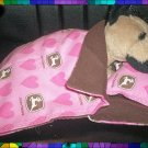 Pink John Deere Sleeping Bag & Pillow 4 Webkinz LilKinz FREE US AND CANADA SHIPPING