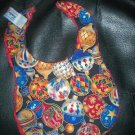 Handmade Baby Bib ~ Stunning Ornaments FREE US AND CANADA SHIPPING