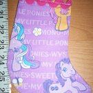 Handmade Christmas Stocking Ornament 379 My Little Pony FREE US AND CANADA SHIPPING