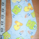 Handmade Christmas Stocking Ornament #349 Leaping Frogs FREE US AND CANADA SHIPPING