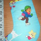 Handmade Christmas Stocking Ornament #260 Diego FREE US AND CANADA SHIPPING