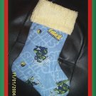 Handmade Christmas Stocking Teenage Mutant Ninja Turtle FREE US AND CANADA SHIPPING