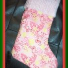 Handmade Christmas Stocking ~ Sesame Street Elmo FREE US AND CANADA SHIPPING