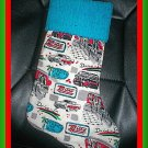 Handmade Christmas Stocking ~ Retro Diner Restaurant FREE US AND CANADA SHIPPING