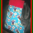 Handmade Christmas Stocking ~ Pirate FREE US AND CANADA SHIPPING