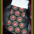 Handmade Christmas Stocking ~ Military USA Marines FREE US AND CANADA SHIPPING