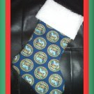 Handmade Christmas Stocking ~ Military USA Army Soldier FREE US AND CANADA SHIPPING