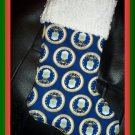 Handmade Christmas Stocking ~ Military USA Air Force FREE US AND CANADA SHIPPING