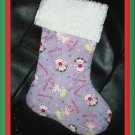 Handmade Christmas Stocking ~ Fairy Princess FREE US AND CANADA SHIPPING