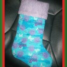 Handmade Christmas Stocking ~ Disney's Hannah Montana FREE US AND CANADA SHIPPING