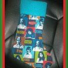 Handmade Christmas Stocking ~ Blue High School Musical FREE US AND CANADA SHIPPING
