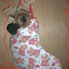 Custom Christmas Stocking Sack for Webkinz Lil'Kinz #7 FREE US AND CANADA SHIPPING