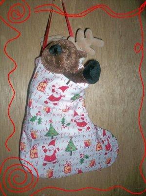 Custom Christmas Stocking Sack for Webkinz Lil'Kinz #6 FREE US AND CANADA SHIPPING
