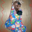 Custom Christmas Stocking Sack for Webkinz Lil'Kinz #4