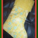 Handmade Christmas Stocking ~ Sesame Street Big Bird FREE US AND CANADA SHIPPING