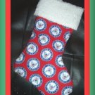 Handmade Christmas Stocking ~ Military USA Navy Sailor
