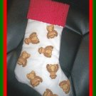Handmade Christmas Stocking ~ Funky Monkey Faces BCMM