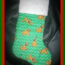 Handmade Christmas Stocking ~ Disney Mickey's Dog Pluto