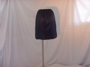 Sears black half slip nylon medium (S L A)