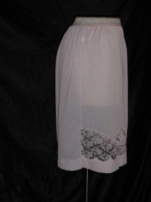Opalite Pink half slip Vintage Antron III nylon waist 24 Original Tag S L A 2