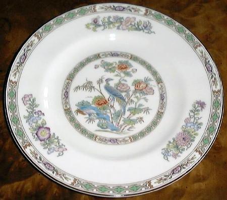 Fine China KUTANI CRANE Salad Plate by Wedgwood
