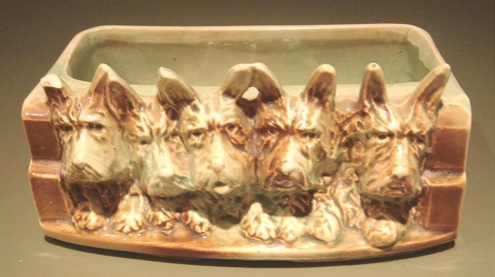 Outstanding McCoy Scottie Dog Planter