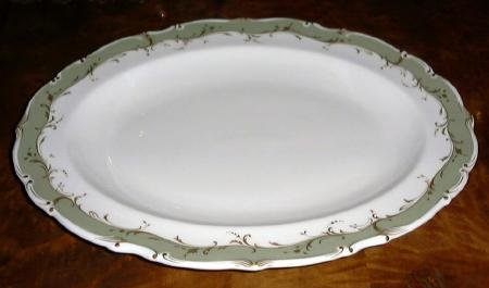 FONTAINEBLEAU Oval Serving Platter, Fine China by Royal Doulton, England