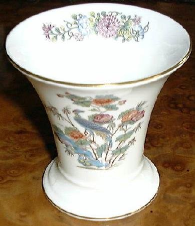 KUTANI CRANE Posey Pot Flower Vase Wedgwood Porcelain China