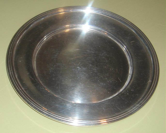 "6 1/8"" STERLING SILVER BREAD & BUTTER PLATE"
