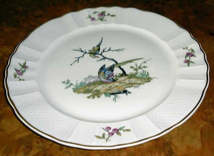 Mennecy, Fine Bone China DINNER PLATE by Bernardaud & Co. , Limoges, France