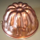 DECORATIVE COPPER ROUND MOLD KITCHEN TOOL FOR COOKING