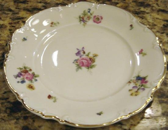 Porcelain Salad Plate MAYFAIR by Hutschenreuther
