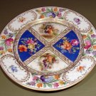 "Royal Dresdner Schumann Bavaria 8 3/8""  Plate Figures Betsy Ross Germany"