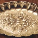 Fancy Oval Silver REPOUSSE Bowl-Noted Nashville Family