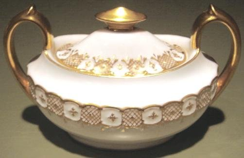 HERALDIC Royal Crown Derby English Bone China Sugar Bowl & Lid