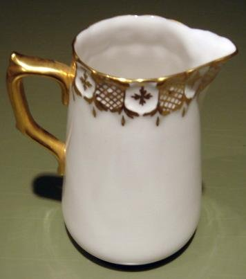 Royal Crown Derby HERALDIC English Bone China Cream Pitcher
