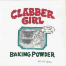 HAND PAINTED DECORATIVE FOOD LABEL CERAMIC TILE by TENNESSEE ARTIST, Clabber Girl baking powder